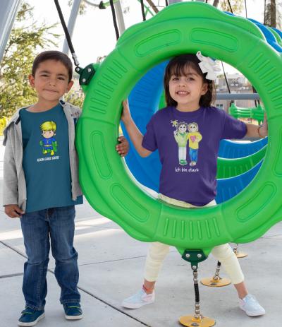 Starke Kinder T-Shirts für Jungen und Mädchen