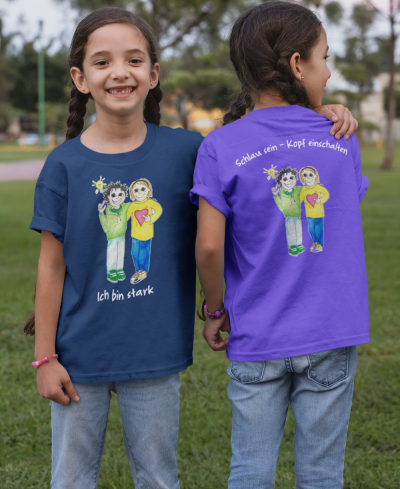 Starke Kinder T-Shirt